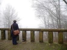 Eigentlich sieht man von hier das Landgrafenschloss auf der anderen Seite des Tals ...