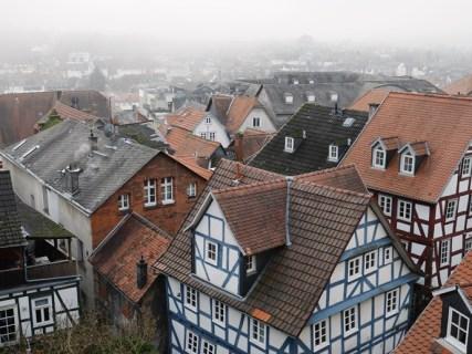 Die Dächer von Marburg