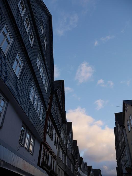 Der Himmel über der Altstadt