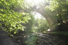 Brücke mit Lensflare