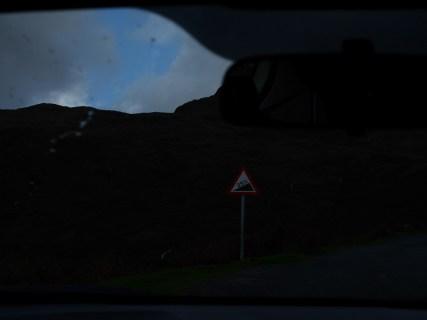 Vor dem / Approaching Wrynose Pass