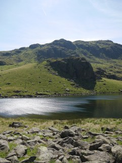 Wind auf dem / Wind on Seathwaite Tarn