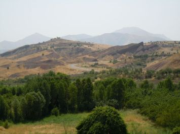 Berge bei Chwarta