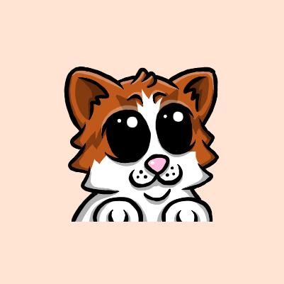 Northern Rich Twitch Cat Emote