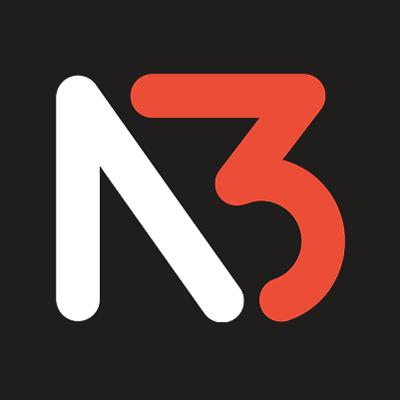 N3 Vapor Twitch Stream Logo, Branding, Emotes