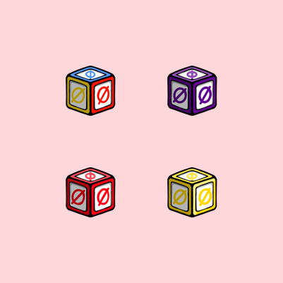 Alphobet's Alphabet Blocks Twitch Subscriber Badges by WildeThang