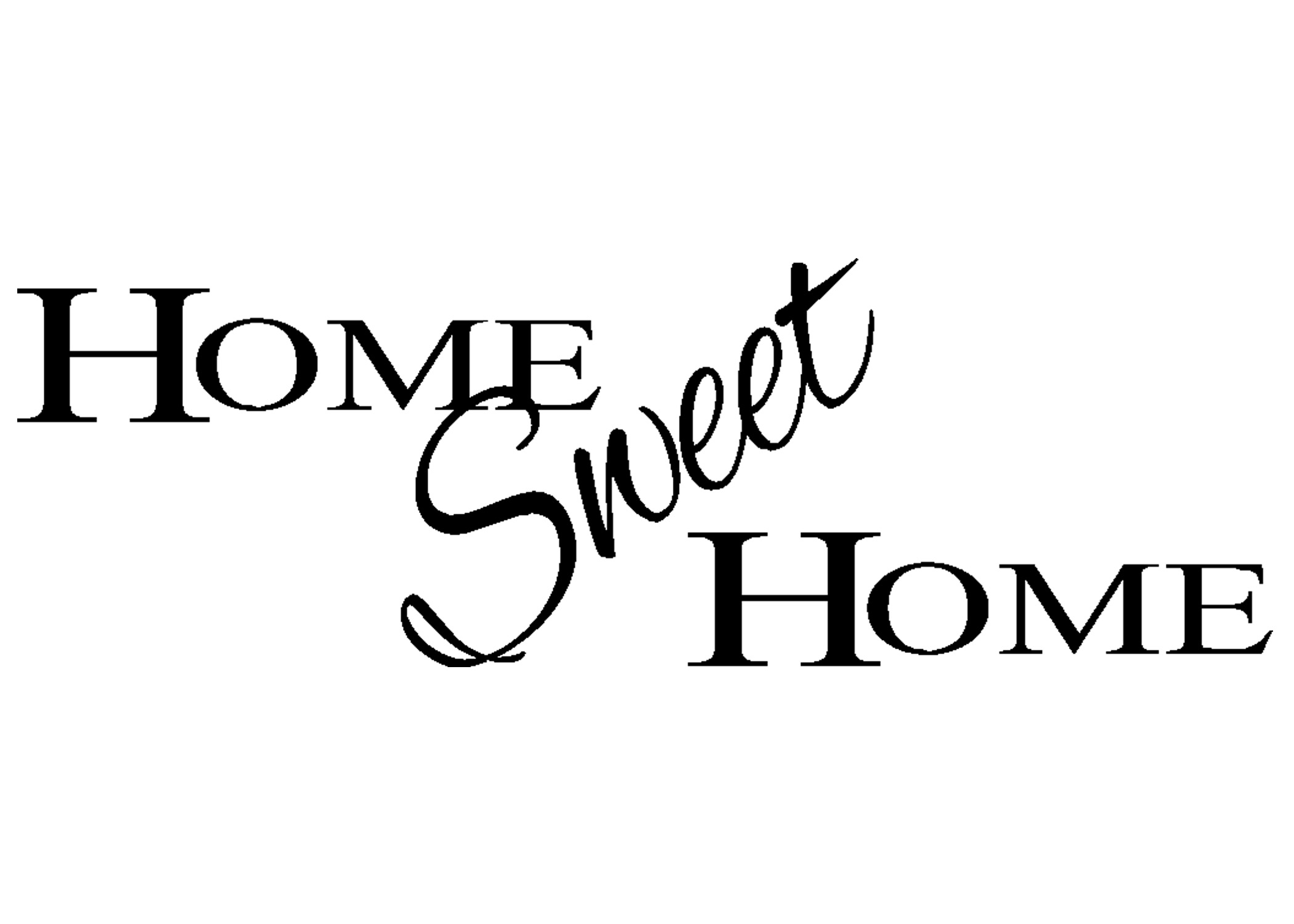 Women and Home: Home Sweet Home Digital Clip Art Houses