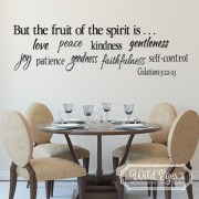 Galatians 5:22-23 Vinyl Wall Decal 1