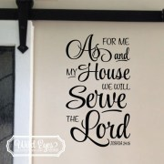 Joshua 24v15 Vinyl Wall Decal 5