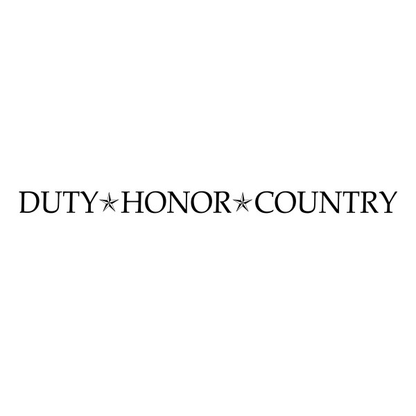 Duty Honor Country Vinyl Wall Decal