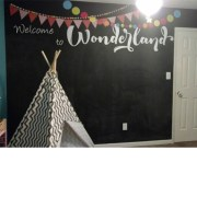 Welcome to Wonderland Vinyl Wall Decal