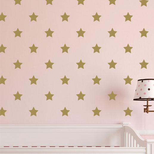 Star Polka Dot Vinyl Wall Decal