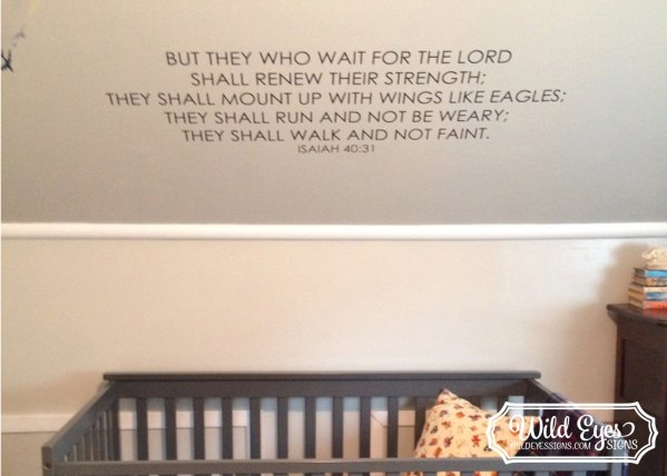 Isaiah 40:31 Vinyl Wall Decal 4