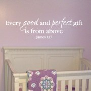 James 1:17 Vinyl Wall Decal 4