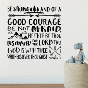 Joshua 1v9 KJV Vinyl Wall Decal 41