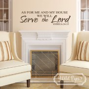 Joshua 24v15 Vinyl Wall Decal 1