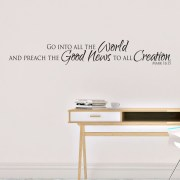 Mark 16v15 Vinyl Wall Decal 1