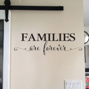 Families are Forever Vinyl Wall Decal 2
