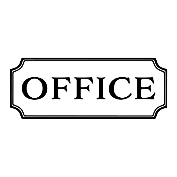 OFFICE Vinyl Wall Decal