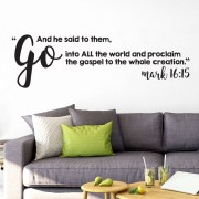 Mark 16v15 Vinyl Wall Decal 4