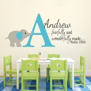Psalm 139v14 Vinyl Wall Decal 19