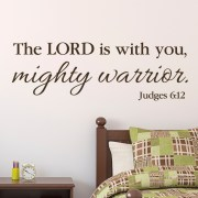 Judges 6v12 Vinyl Wall Decal