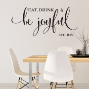 Ecclesiastes 8v15 Vinyl Wall Decal 3