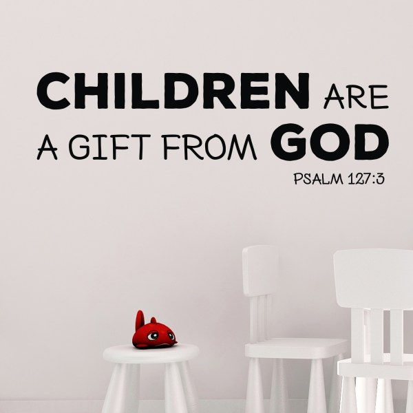 Psalm 127v4 Vinyl Wall Decal 8