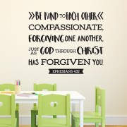 Ephesians 4v32 Vinyl Wall Decal