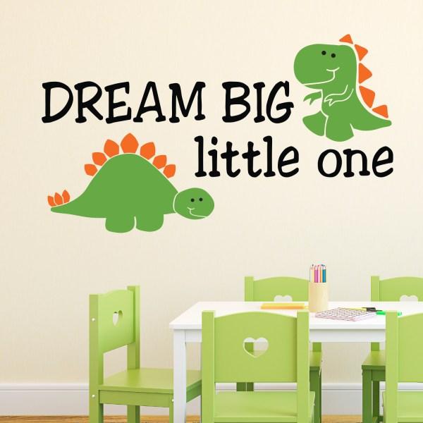 Dream Big Little One Vinyl Wall Decal