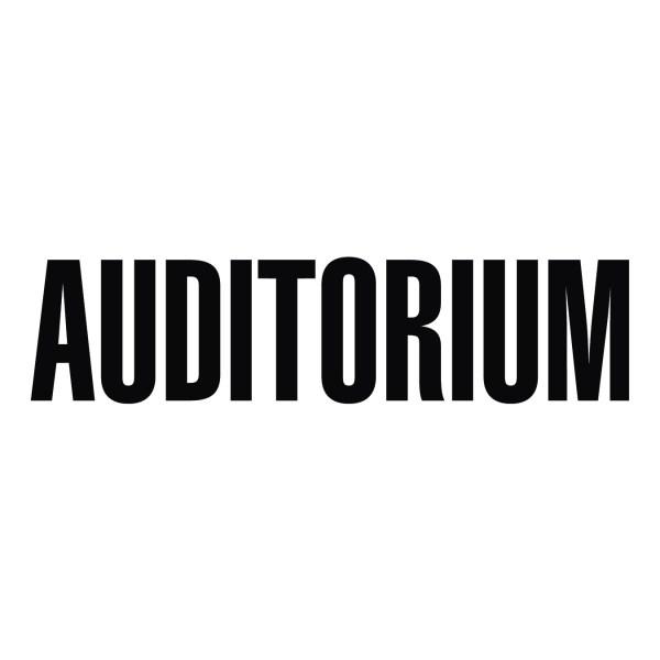 Auditorium Sign Vinyl Wall Decal