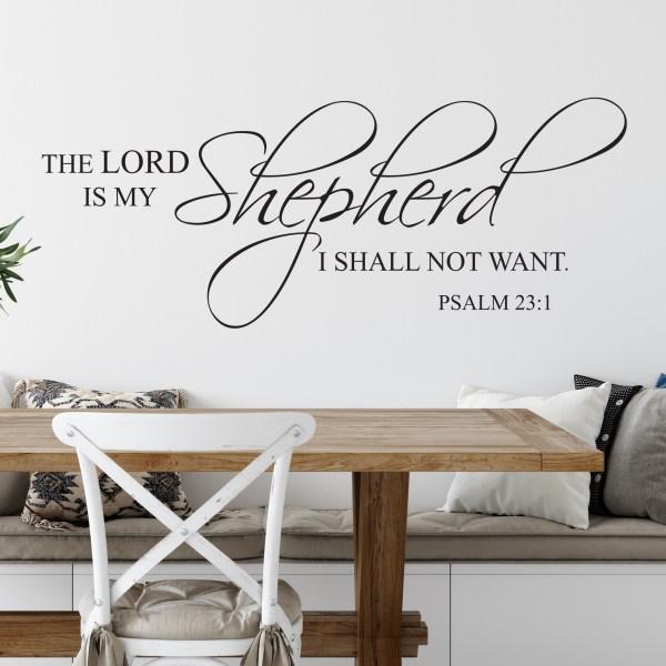 Psalm 23v1 Vinyl Wall Decal 2