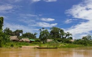 Community along the Las Piedras River