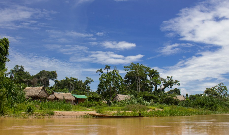 Community along the Las Piedras River
