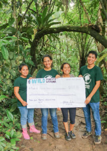 The winning team presented a strategic marketing plan that would promote ecotourism at LPAC to urban areas of Madre de Dios.
