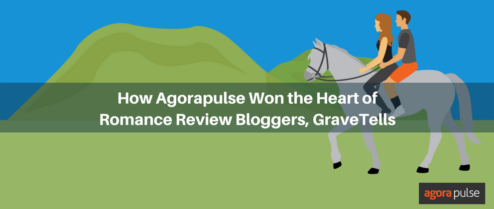 How Agorapulse Won the Heart of Romance Review Blog GraveTells