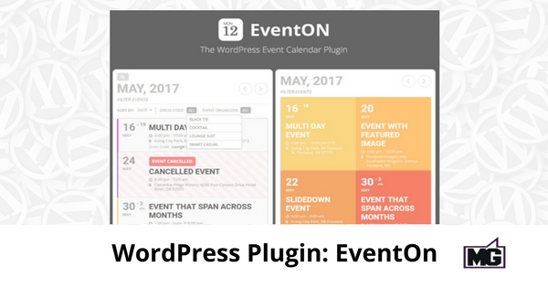WordPress Plugin: EventOn