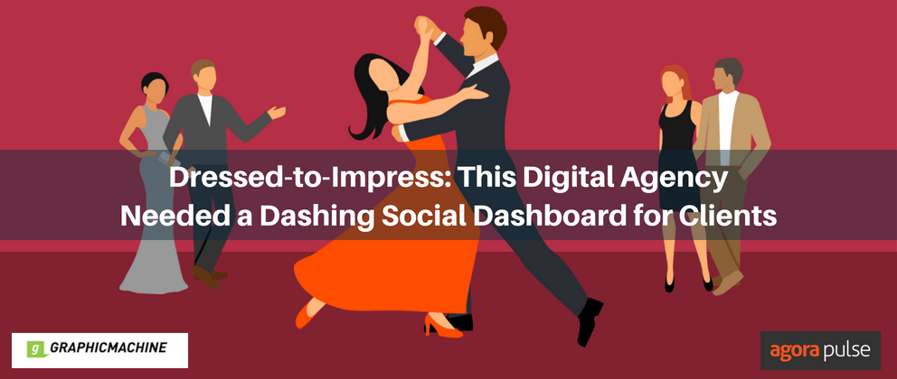 Dressed-to-Impress: This Digital Agency Needed a Dashing Social Dashboard for Clients