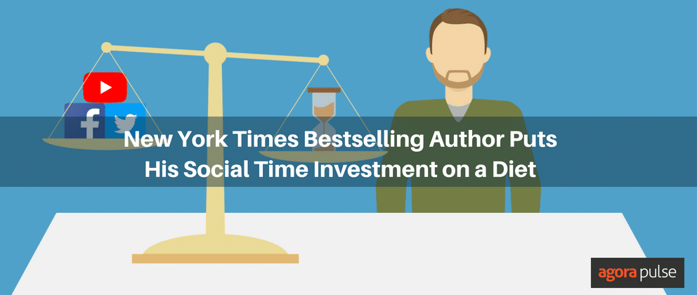 New York Times Bestselling Author Puts His Social Time Investment on a Diet