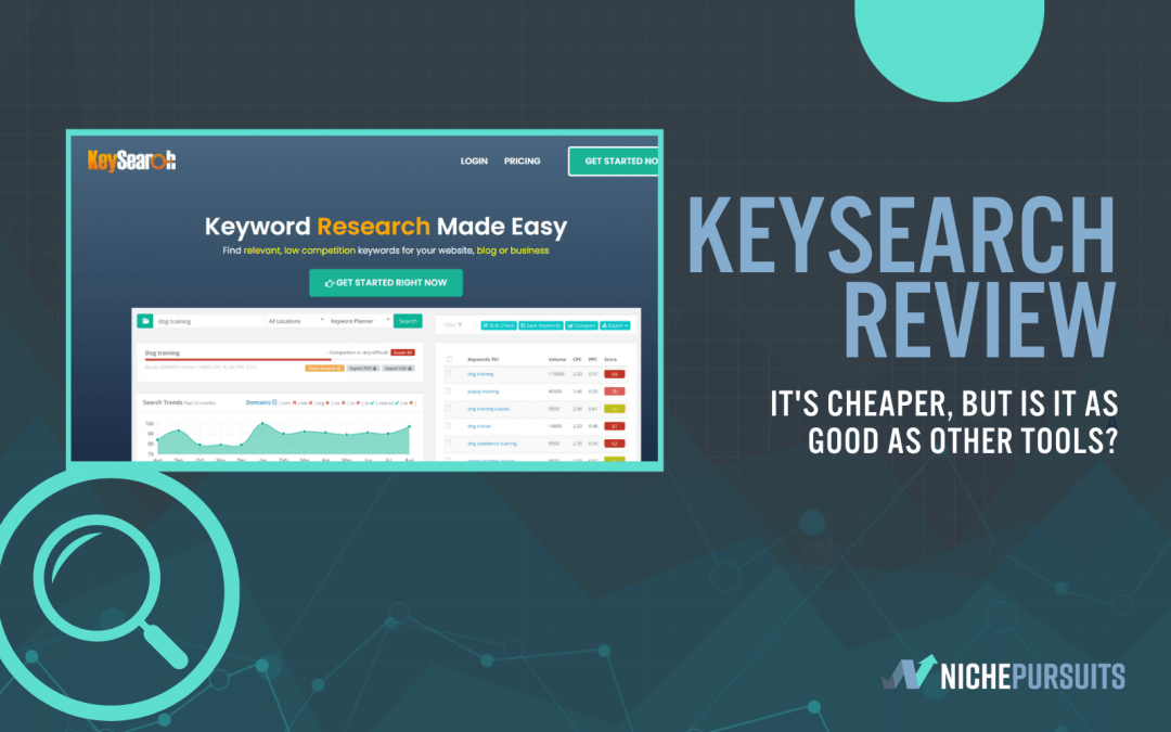KeySearch Review: Is This The Most Affordable Keyword Research Tool Around?