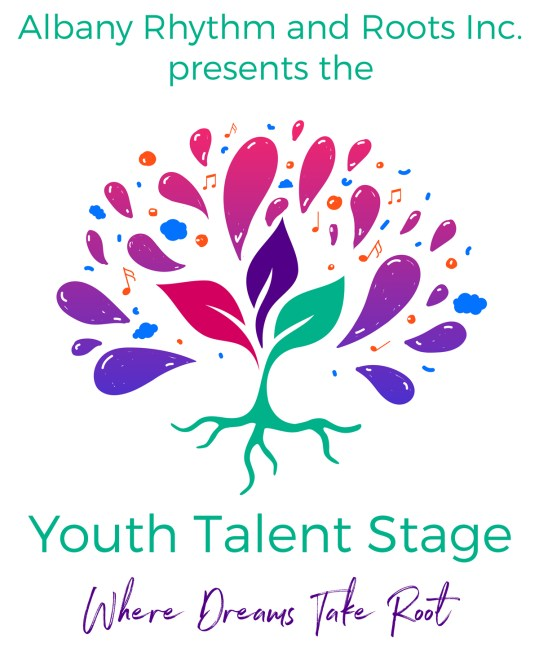 Wildfire Creative - Youth Talent Stage music festival logo design