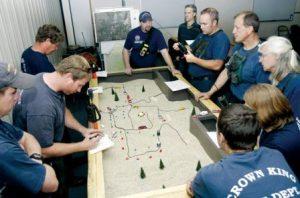 Prescott fire training