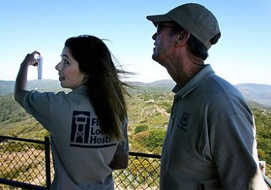 Volunteers staff lookout towers - Wildfire Today