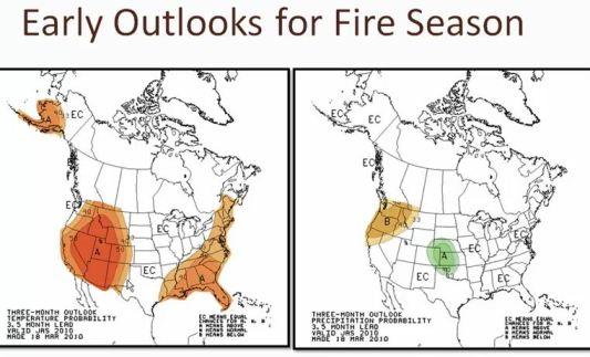 Fire Season Outlook 2010