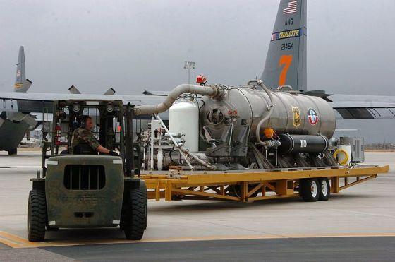 MAFFS II air tanker tank