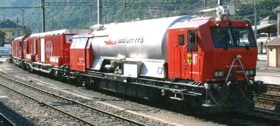 Windhoff-Swiss fire train