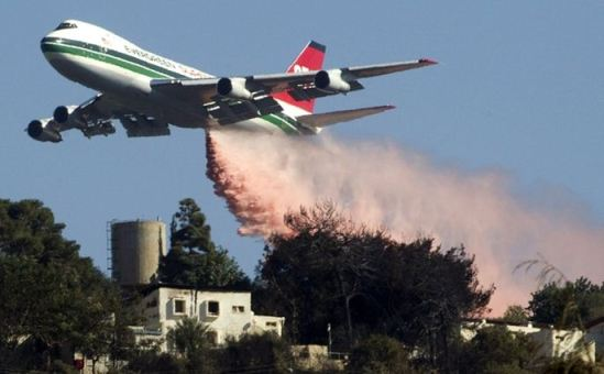 747 dropping in Israel