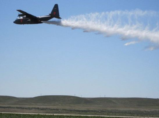 MAFFS air tankers training at Boise