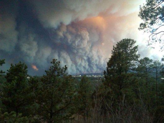 Las Conchas fire 6-27-2011
