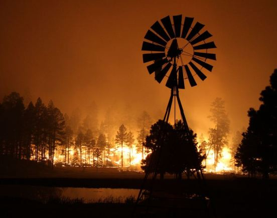Wallow fire 6-5-2011